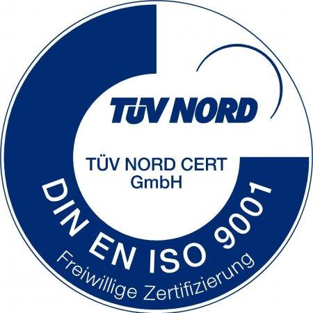 Сертификат качества TÜV NORD DIN EN ISO