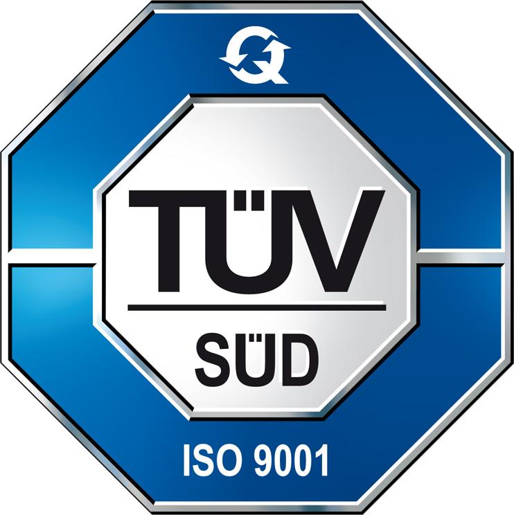 Сертификат от Technischer Überwachungsverein (TÜV)